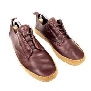 Creative Recreation | Burgundy Leather Sneakers 9